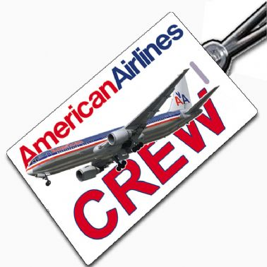 American Airlines 767 Tag